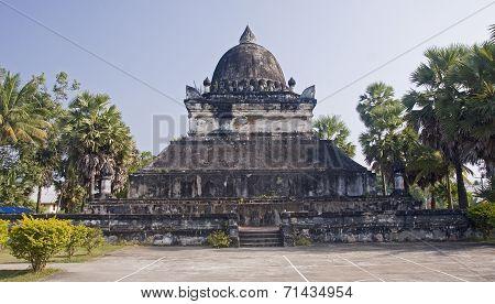 Wat Visoun Stupa In Luang Prabang