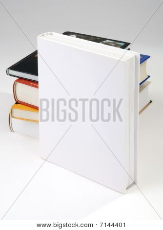 Four Blank Book Cover