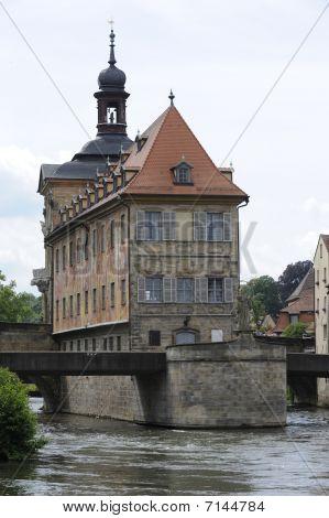 city hall of Bamberg