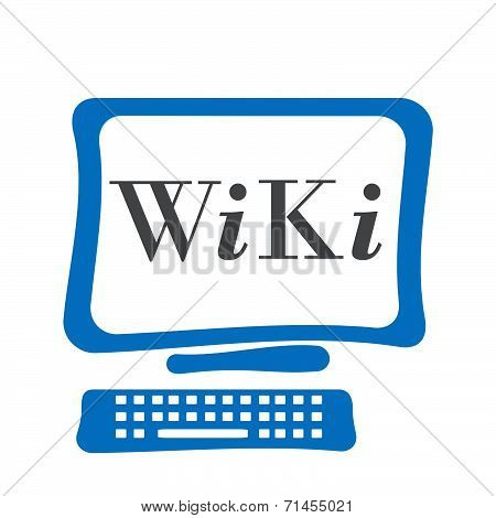 WiKi Computer Screen