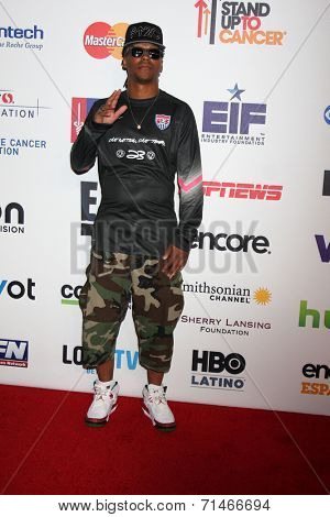 LOS ANGELES - SEP 5:  Lupe Fiasco at the Stand Up 2 Cancer Telecast Arrivals at Dolby Theater on September 5, 2014 in Los Angeles, CA