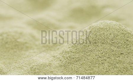Lovage Powder Background