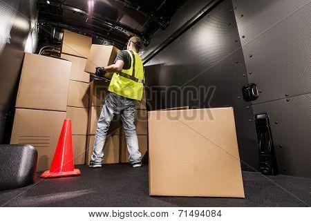 Cargo Van Loading