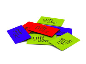 Pile Of Gift Cards