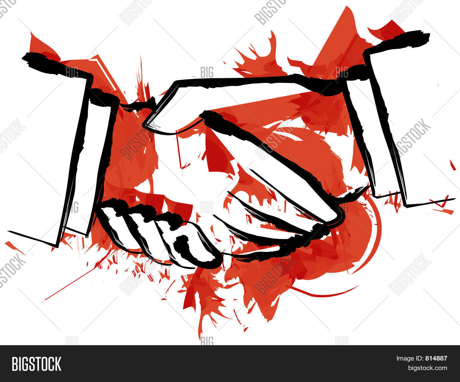 Blood Handshake Image & Photo (Free Trial) | Bigstock