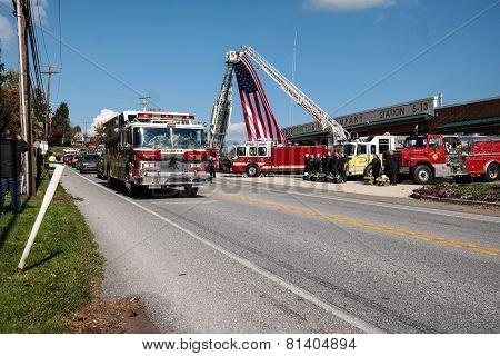 Fallen Firefighter Honored