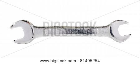 Wrench spanner instrument isolated