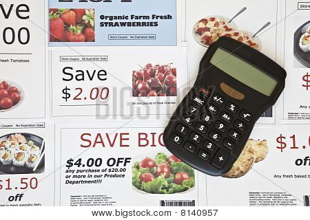 Fake Coupons And Calculator
