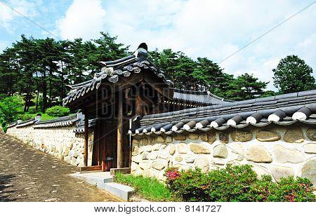 korean traditional wall