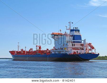 Big oil tanker