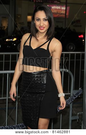 LOS ANGELES - JAN 27:  Francia Raisa at the
