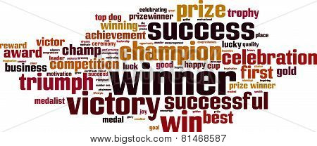 Winner Word Cloud