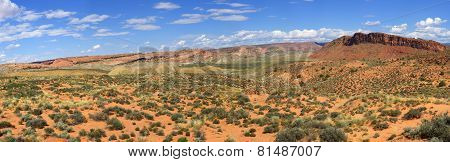 Cache Valley In Arches National Park