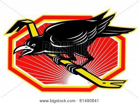 Crow-perch-crowbar