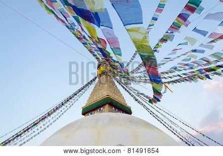 Boudhnath Stupa, Kathmandu, Nepal