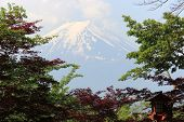Fuji Mountain UNESCO World Heritage Site is one of the most famous tourist destinations in Japan poster