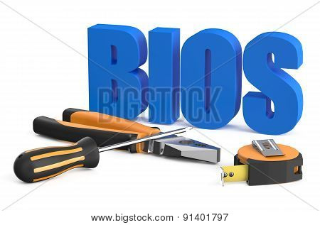 Bios Servise And Repair Concept