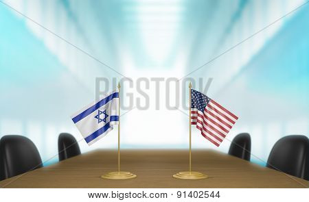 Israel and United States relations and trade deal talks