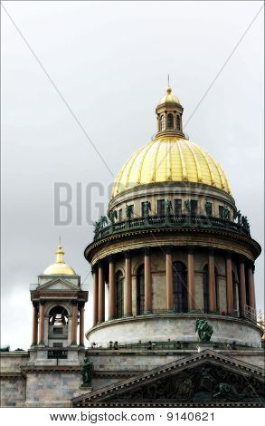 Dome Of A Cathedral Against The Sky