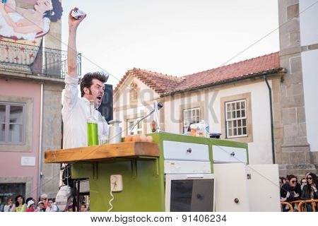 The Yelling Kitchen Prince Performed By Bram Graafland From Holand