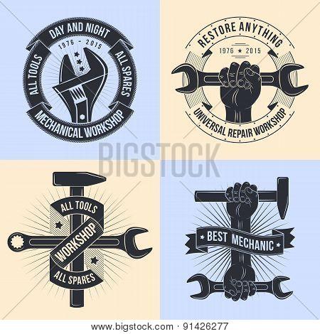 Emblem mechanics
