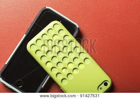 Colorful Smart Phones