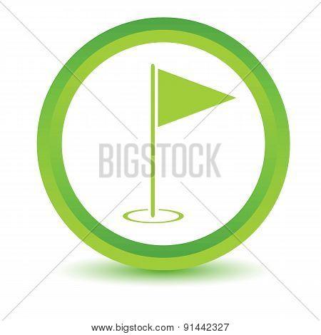 Flagstick volumetric icon