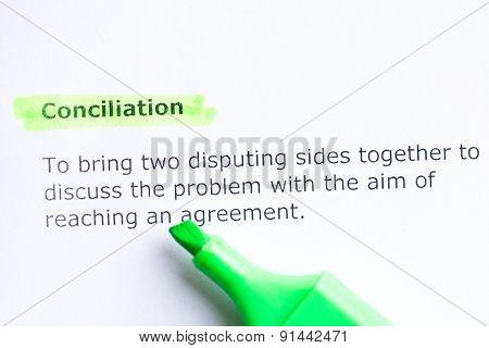 Conciliation