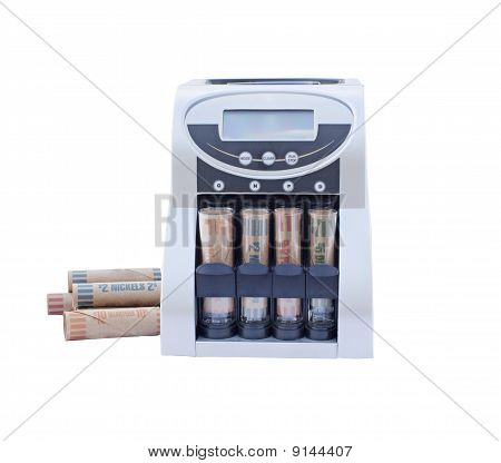 Coin Counting Rolling Machine