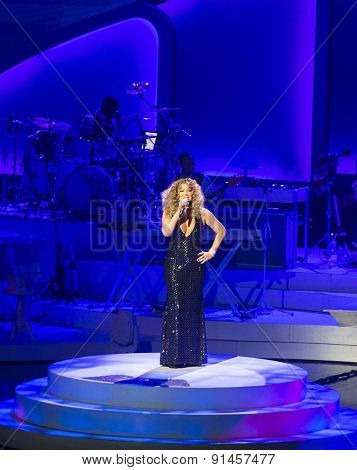 Mariah Carey Launches 'mariah 1 To Infinity' At Caesars Palace In Las Vegas
