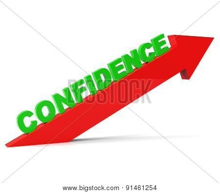 Increase Confidence Shows Cool Poised And Self-reliant