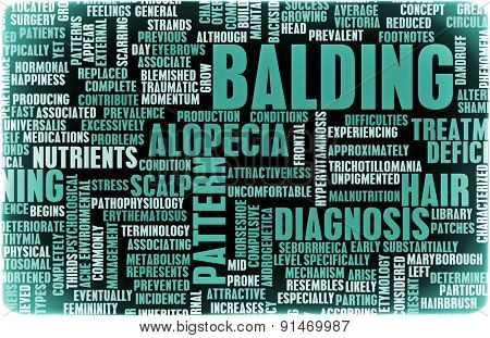 Balding and Hairloss as a Medical Treatment Condition
