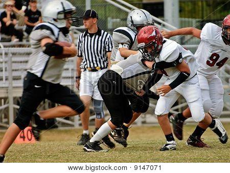 Football Tackling and Running