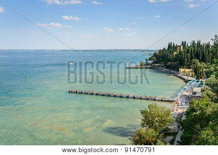 Garda Lake Panorama