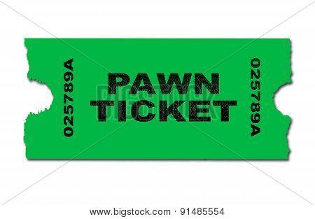 Pawn Ticket