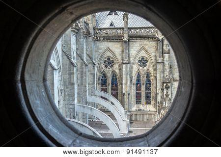 Window In Quito Basilica