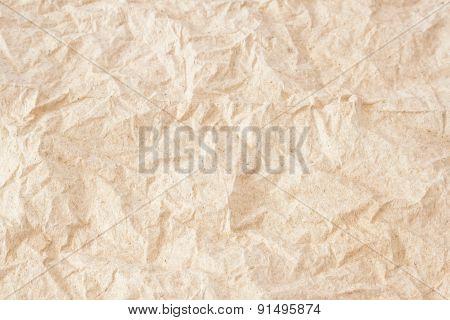 Crumpled Tissue Paper Texture Background