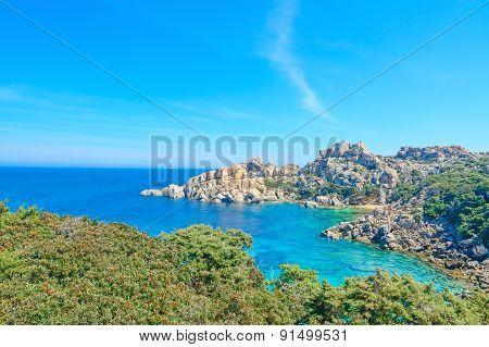 Capo Testa Rocks By The Sea