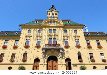Town Hall In Szeged