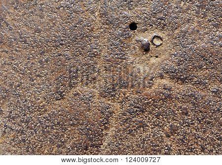 Rusty Metal Surface.