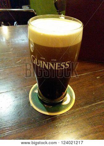 Guinness Beer Pint