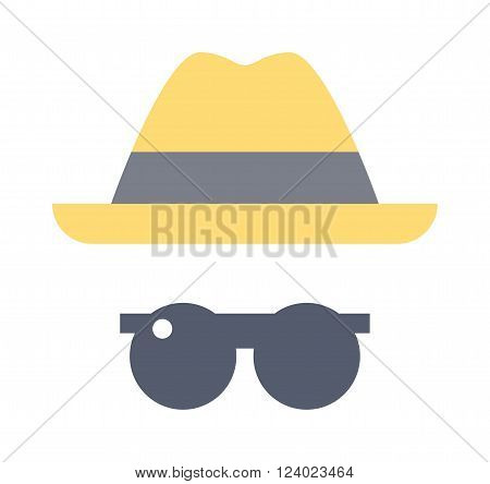 Summer boys look travel, summer vacation, tourism and objects concept close up of clothes summer hat, sunglasses. Summer mans clothes summer hat, sunglasses. Fashion summer clothing look.