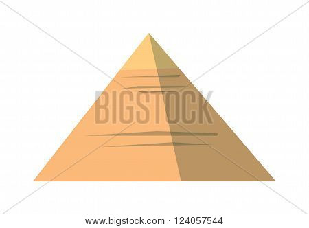 Egypt pyramids vector illustration and egypt pyramids isolated on white background. Egypt pyramids vector icon illustration. Egypt pyramids isolated vector. Egypt pyramids silhouette