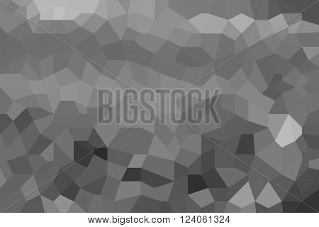 Grey abstract low poly picture as background