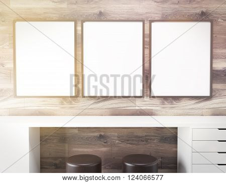 Frames Over Table