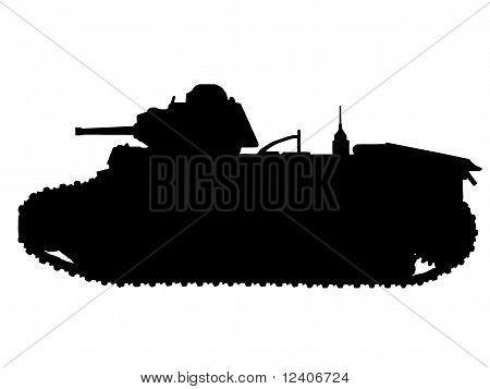 WW2 Series - French Char B1-bis Tank poster