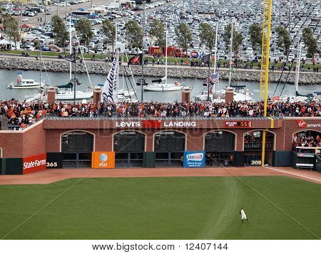 Giants Right Fielder Cody Ross Throws Ball Into The Infield