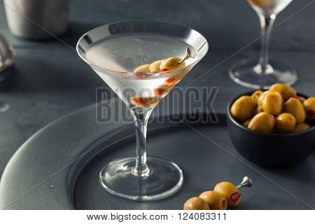 Classic Shaken Dry Vodka Martini