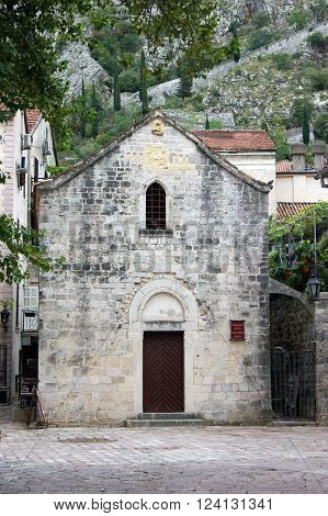 St. Michael's Church in the city of  Kotor, Montenegro
