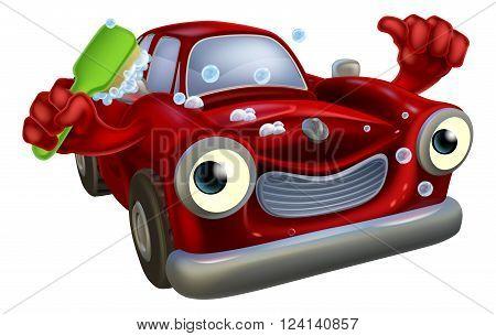 Car Wash Mascot